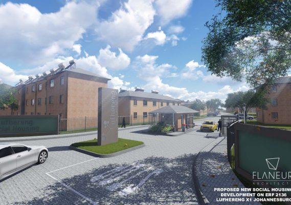 Lufhereng social housing development 2
