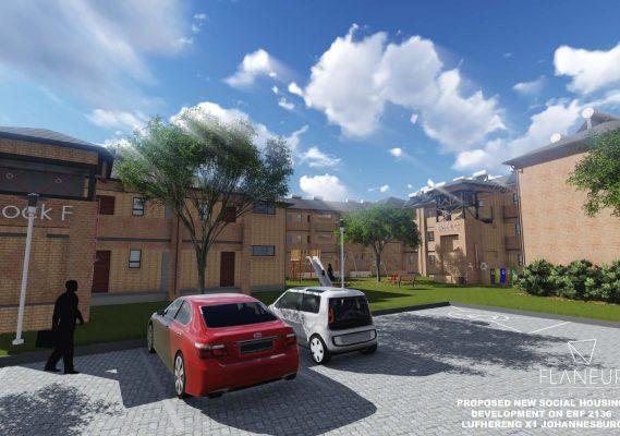 Lufhereng social housing development 3