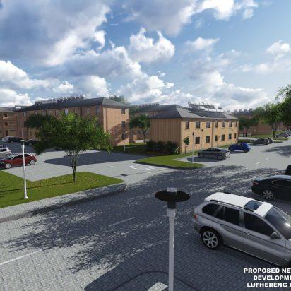 Lufhereng social housing development 4