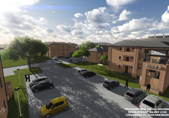Lufhereng social housing development 5