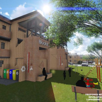 Lufhereng social housing development 7