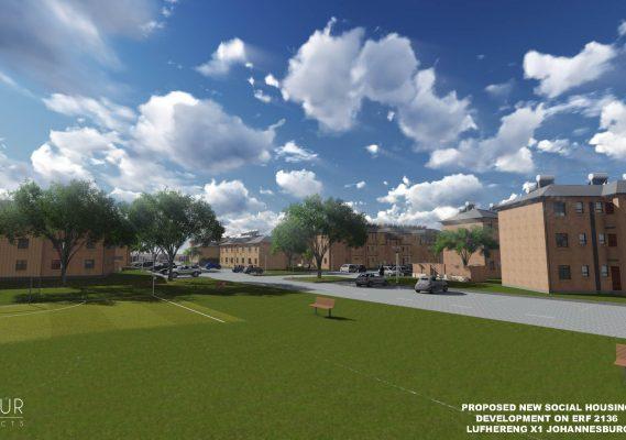 Lufhereng social housing development 8