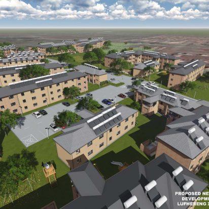 Lufhereng social housing development 9
