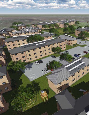 Lufhereng social housing development